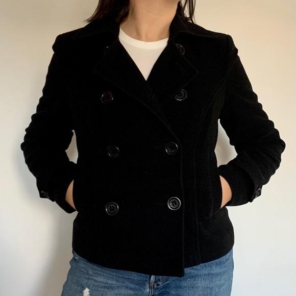 Thick Wool Pea Coat